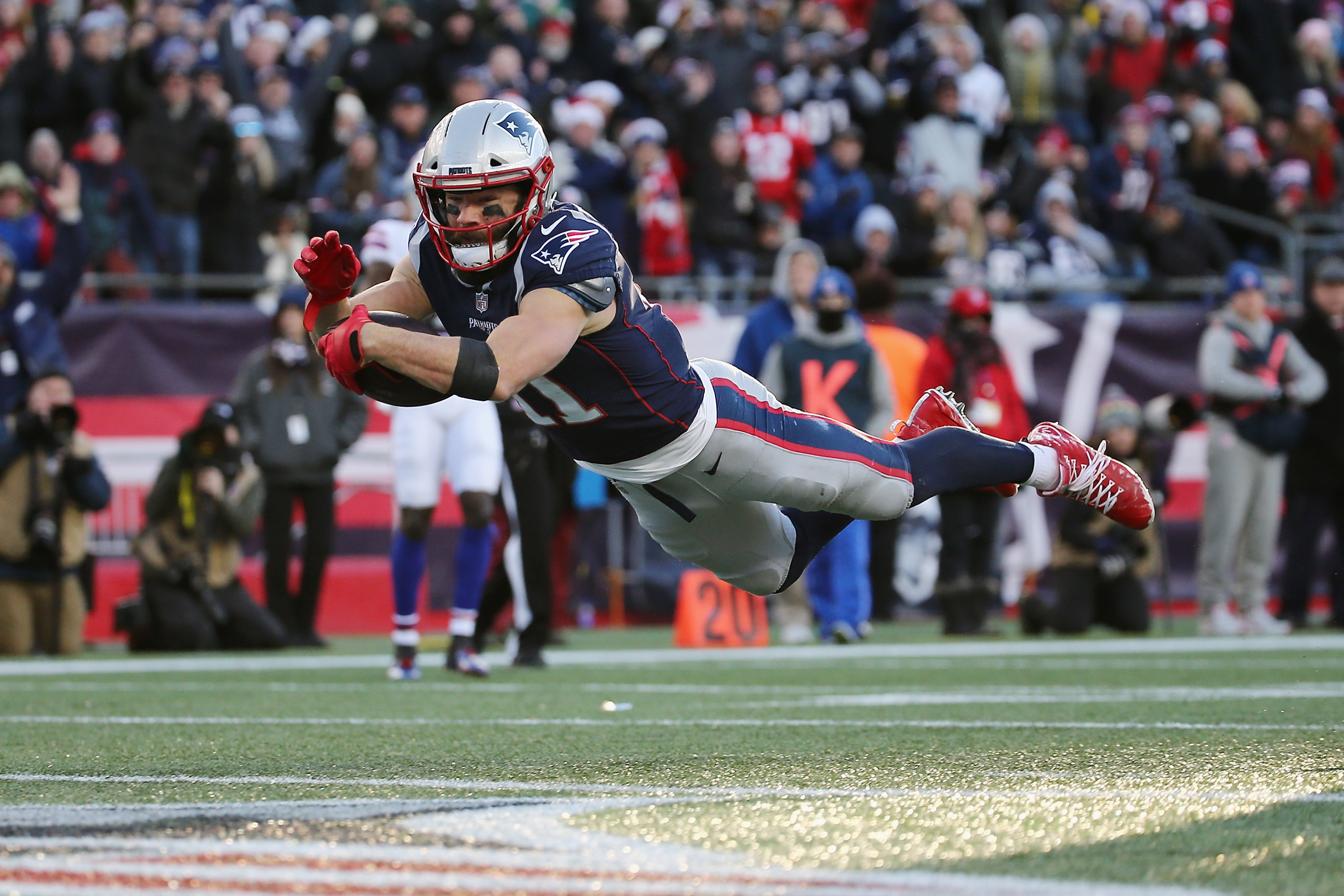 Patriots: Julian Edelman is poised to prove all haters