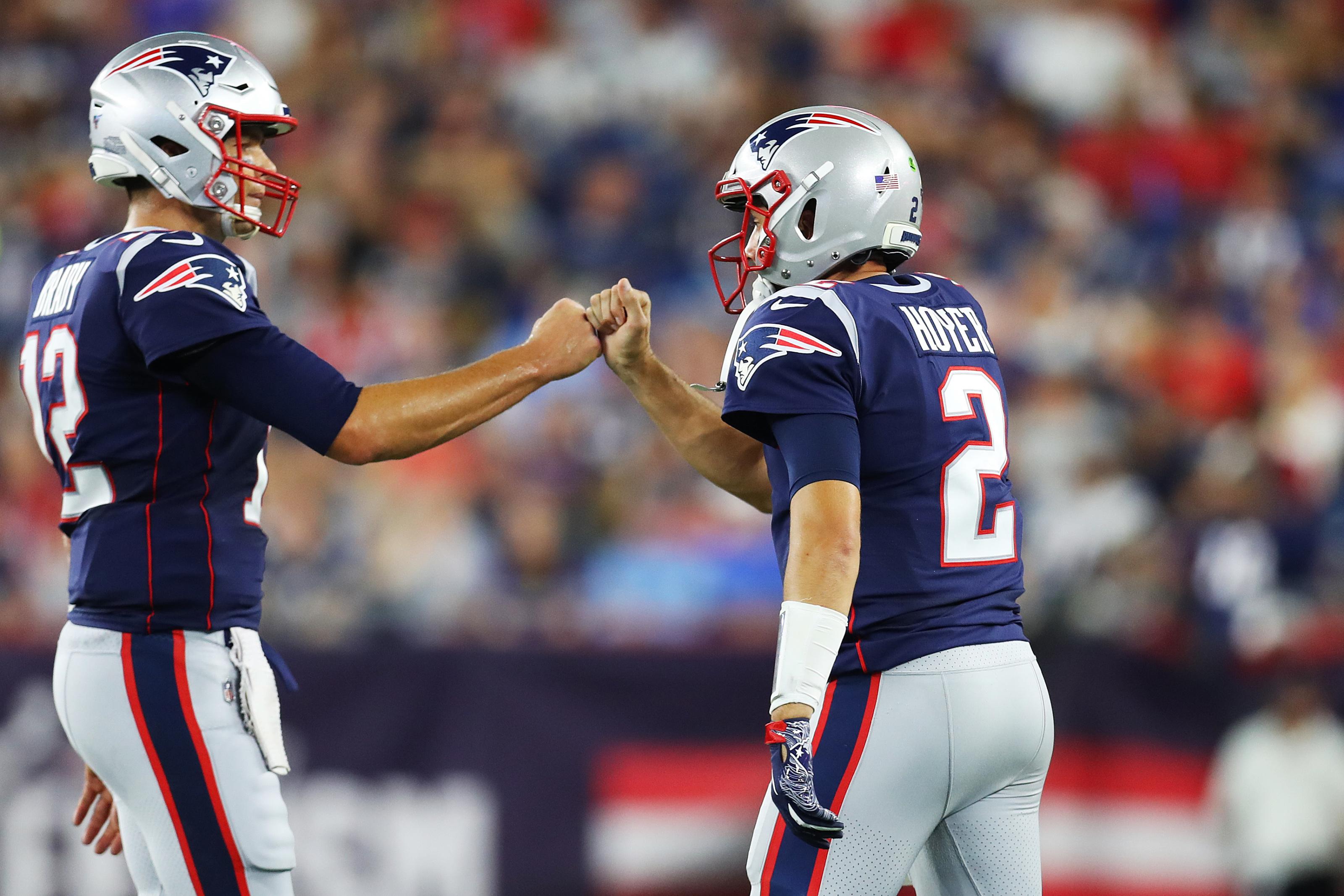 New England Patriots Tom Brady Already Misses Brian Hoyer
