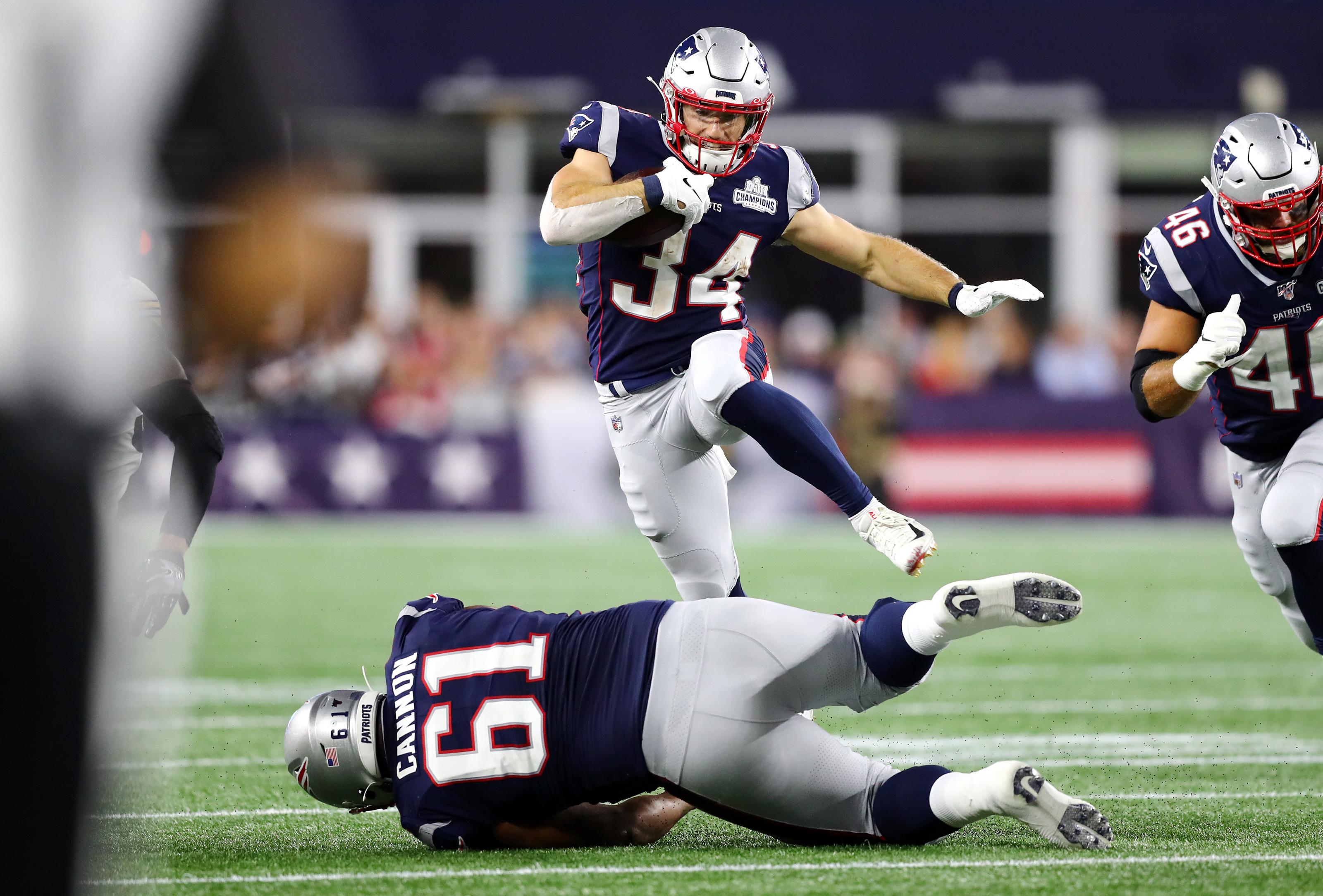 New England Patriots Rex Burkhead Does Team Major Favor