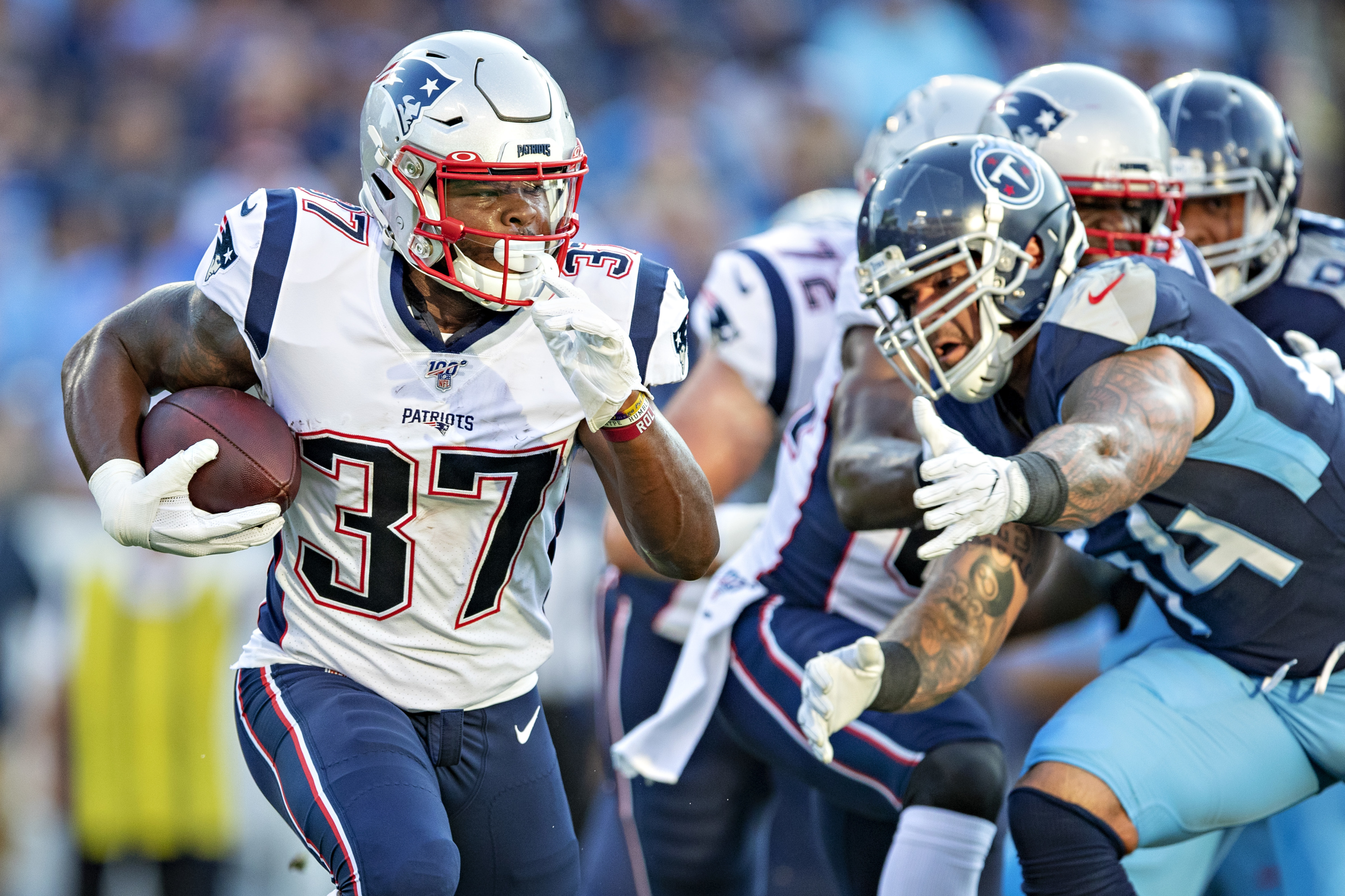New England Patriots Damien Harris Injury Limits Offense