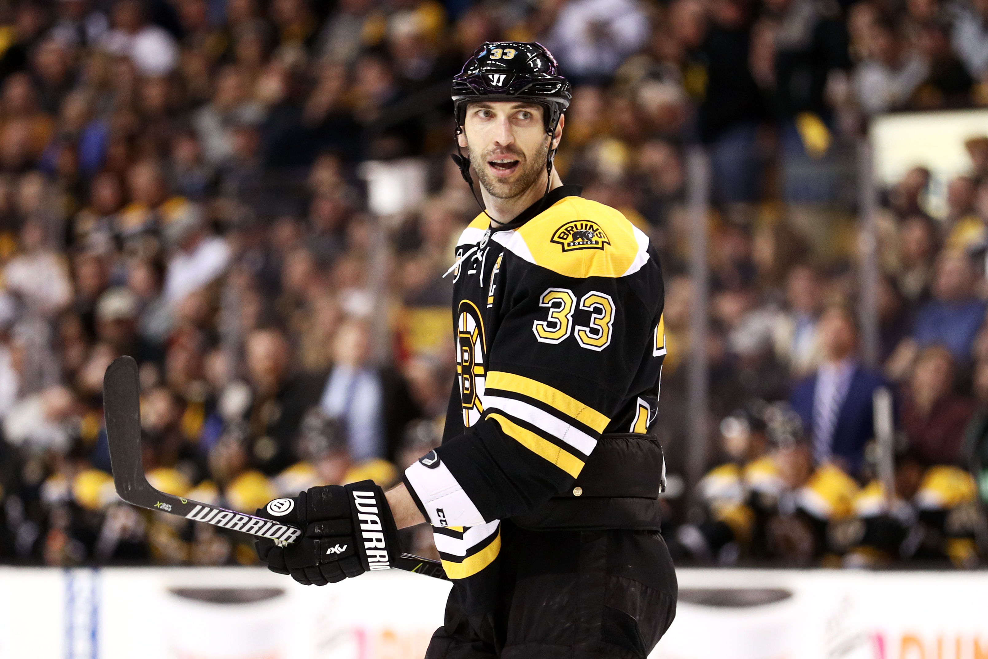 After A Captains Practice In Early September Chara Made It Clearly Known That Going Into The Season He Had Every Intention Of Continuing His Career