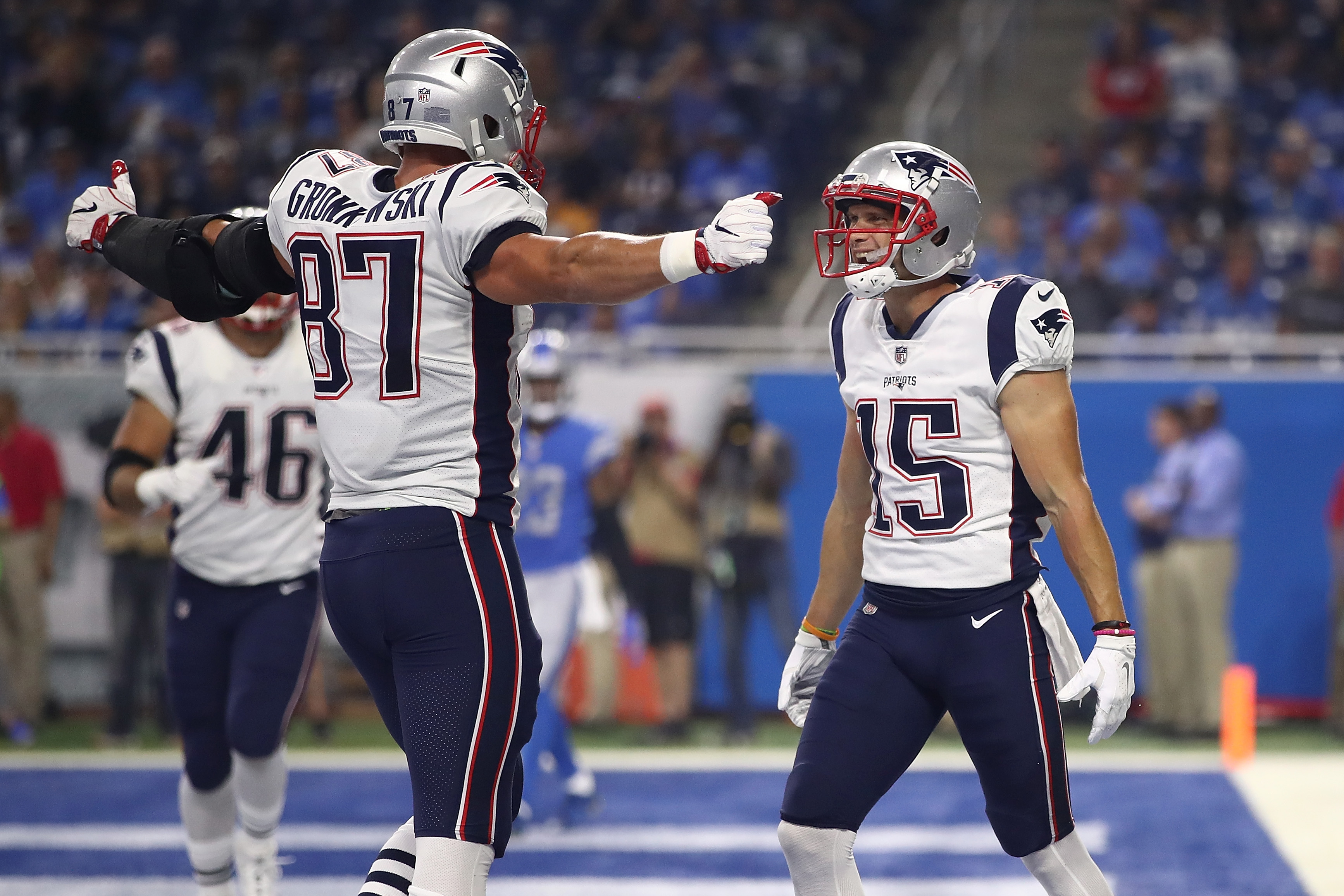 New England Patriots Rob Gronkowski out to redefine his physical game