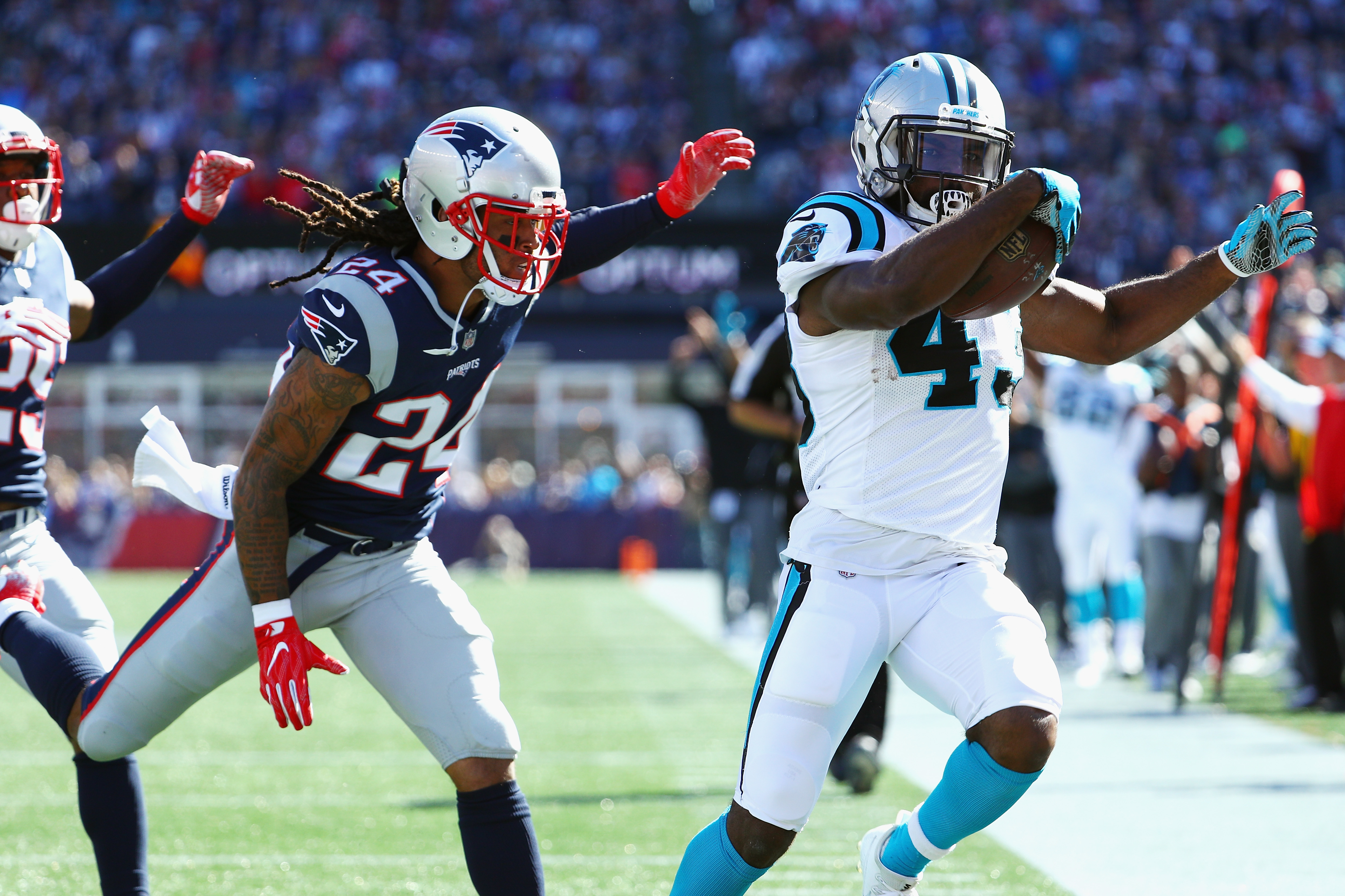 Patriots CB Stephon Gilmore Out Versus Jets With Concussion