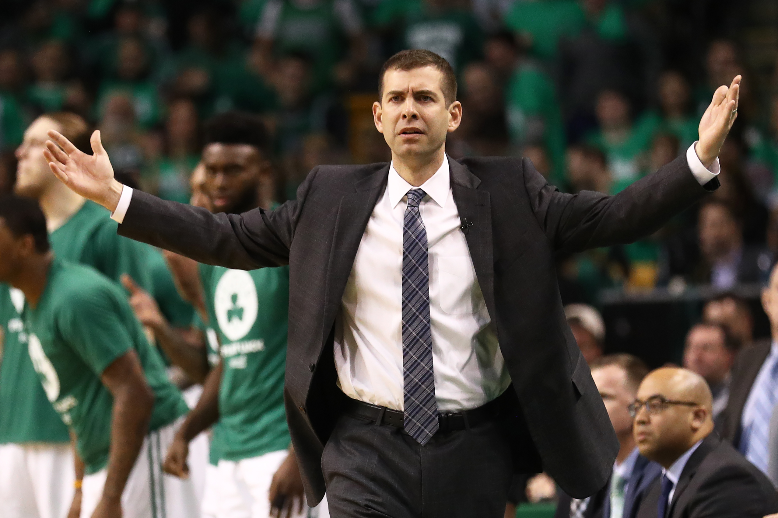 Jaylen Brown, Marcus Morris out of tonight's Celtics game