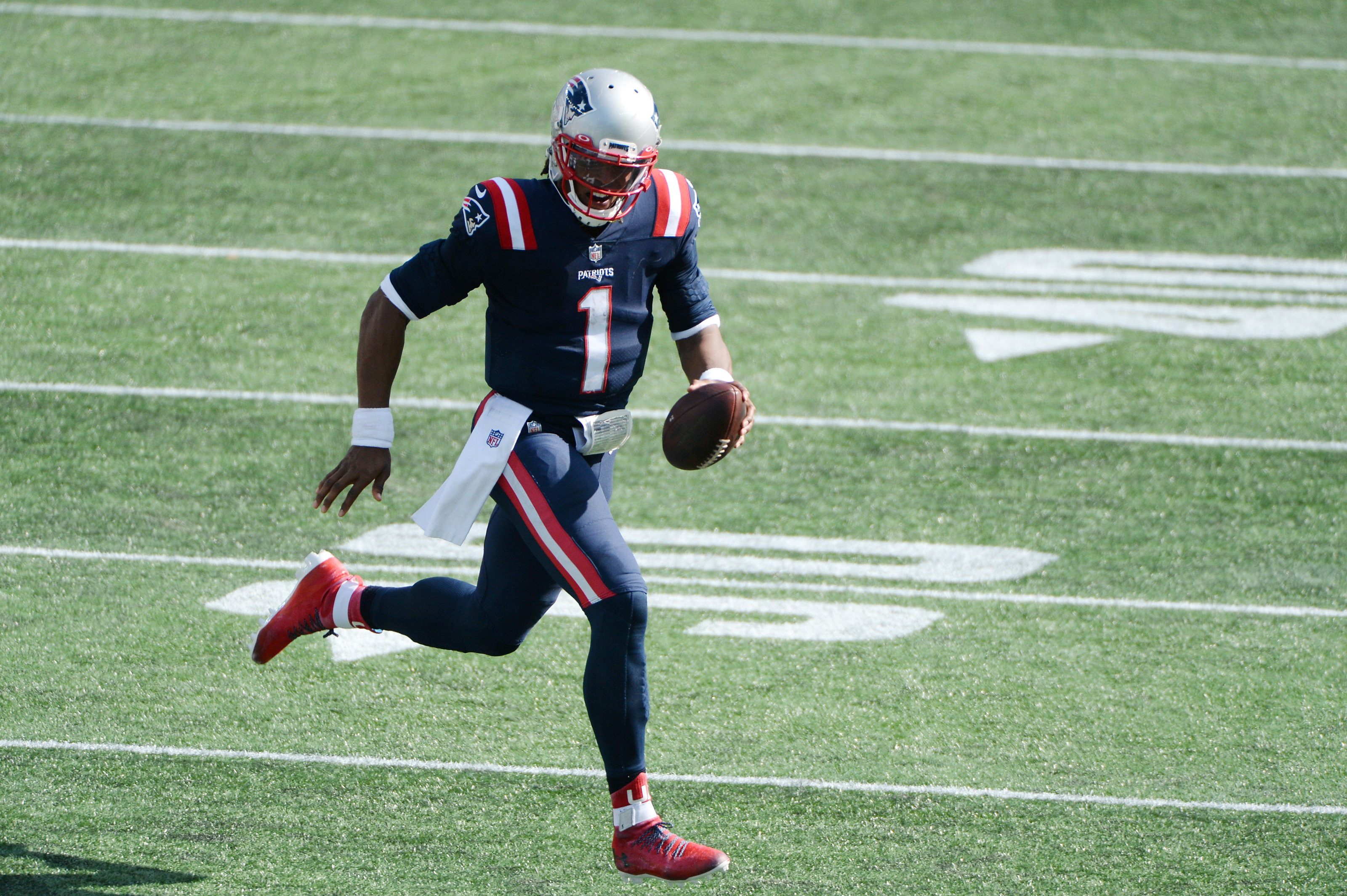 New England Patriots Pounding The Rock Leads To Big Week 1 Win