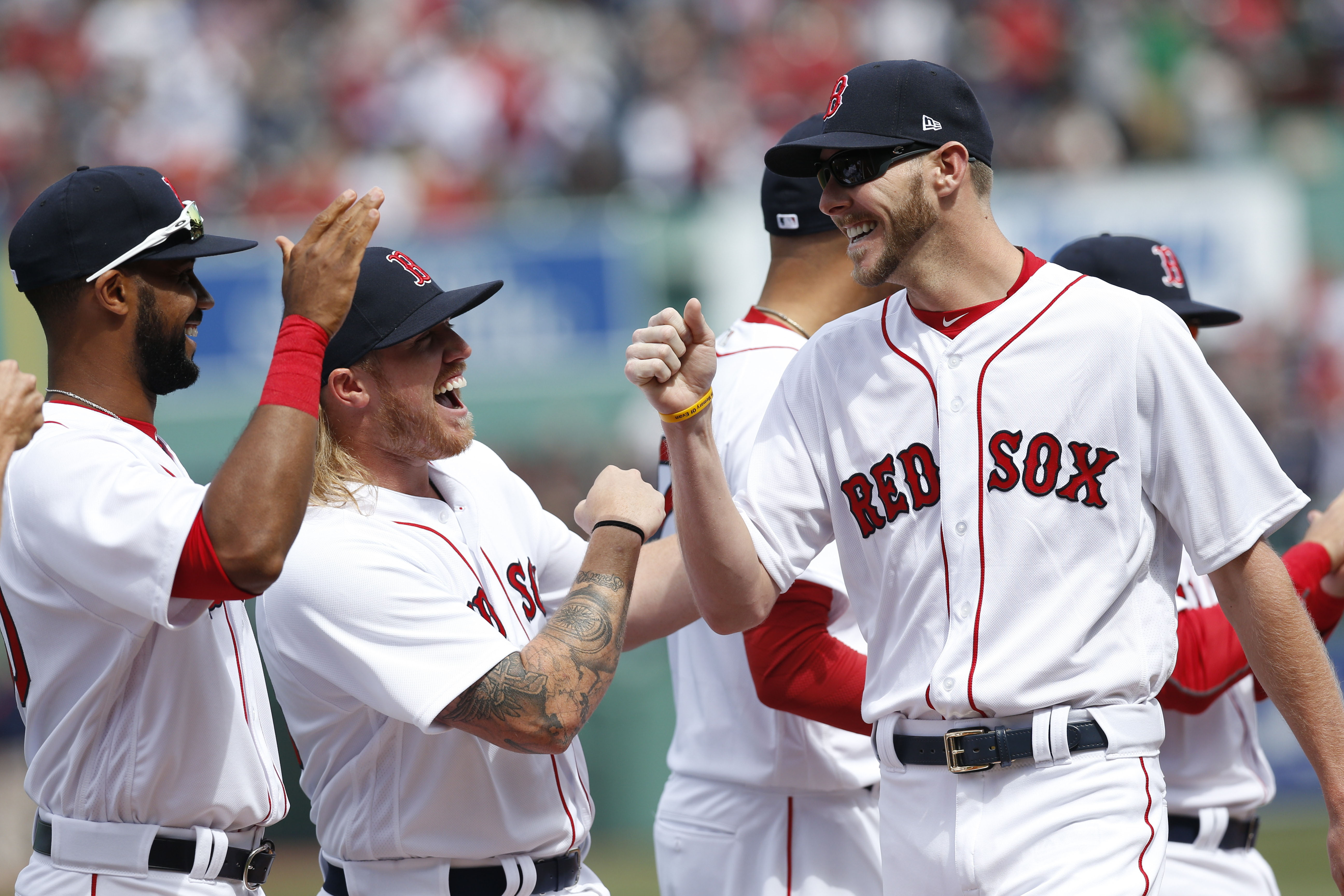 are the boston red sox playing today